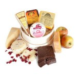 Gift Baskets: Cheese, Crackers & Gourmet