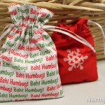 Holiday Favor Bags