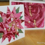 Handmade Marbled Paper & Cards