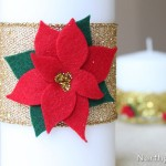 A Simple Poinsettia Appliqué