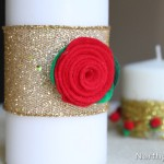 Easy Felt Roses