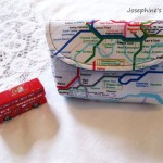 Etsy Item of the Day: London Map Snap Pouch