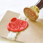 Etsy Item of the Day: Snowflake Wax Seal Stamp