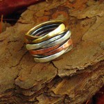 Etsy Item of the Day: Mixed Metal Ring
