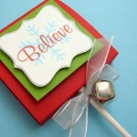 Believe Christmas Lollipop Favors