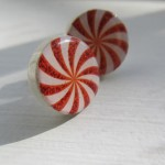Etsy Item of the Day: Peppermint Candy Earrings