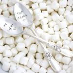 Etsy Item of the Day: Hand Stamped Cocoa Spoons