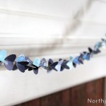 Paper Bauble Garland