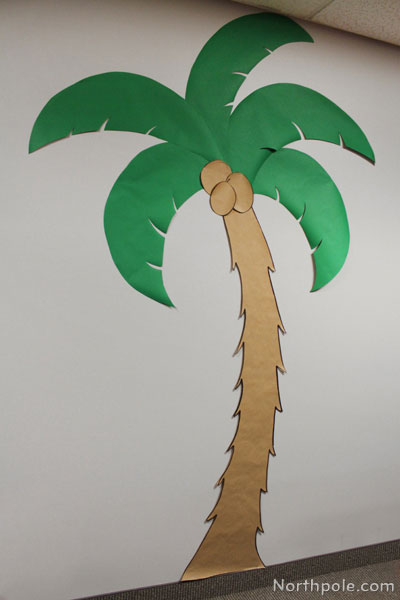 Пальма из бумаги своими руками пошагово для начинающих 19