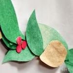Paper Leaf Garland