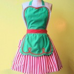 Retro Elf Apron