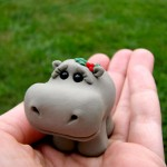 Etsy Item of the Day: Wee Clay Hippo