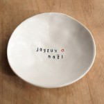 Etsy Item of the Day: Joyeux Noël Dish