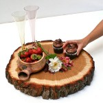 Tree Slice Centerpiece