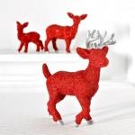 Family o' Glittery Reindeer