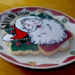 """Saved for Santa"" Plate Cover"