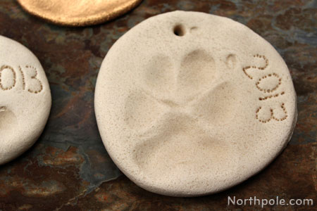 Don't forget about your pets! This is my dog's paw print.