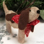 A Curious Christmas Basset