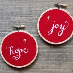 Hope & Joy Embroidery Hoops