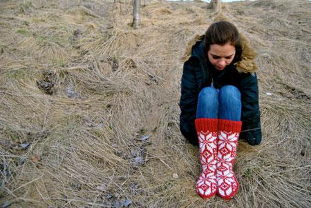 Hlín Icelandic Woolen Socks