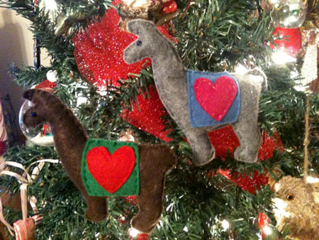 Etsy Item Of The Day Lovable Llama Ornament Elf Blog