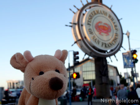 Raymond at Fisherman's Wharf