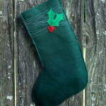 Ho Ho Holly Stocking