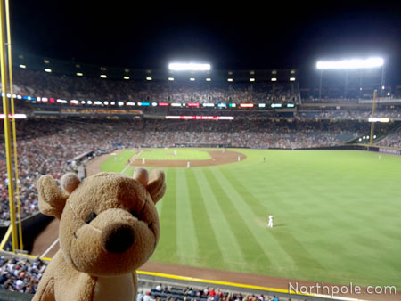 Raymond at the Atlanta Braves Game