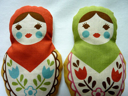 Etsy Item of the Day: Matryoshka Doll Sachets
