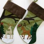 His & Hers Stockings ~ Etsy Seller: Heartfelt Stockings