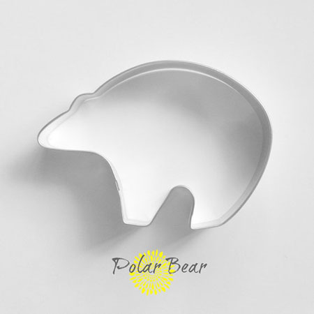Polar Bear Cookie Cutter ~ Etsy Seller: The Buttercup House