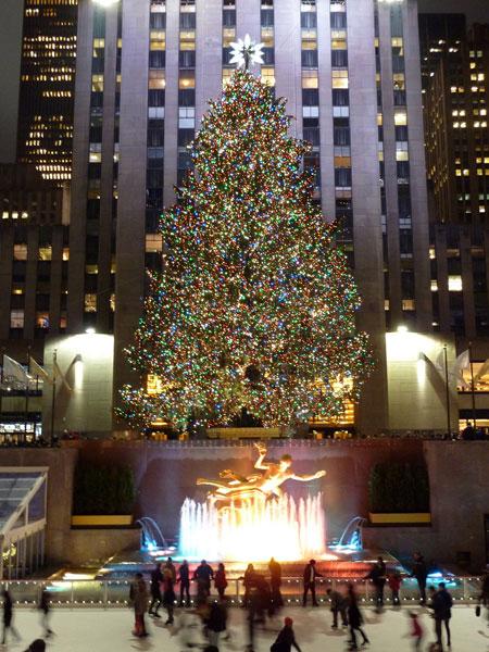 Rockefellar Christmas Tree