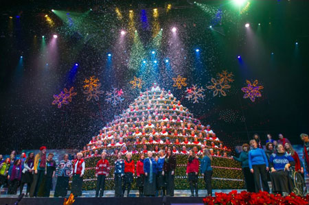 Portland Singing Christmas Tree