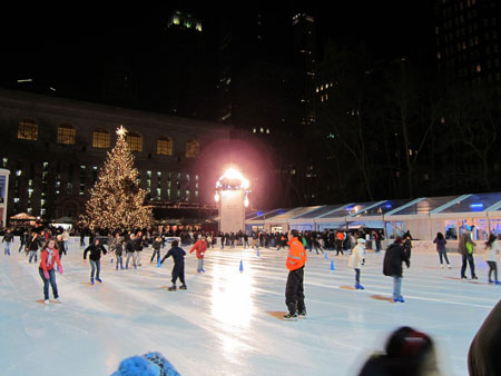 Winter Village at Bryant Park - New York, NY
