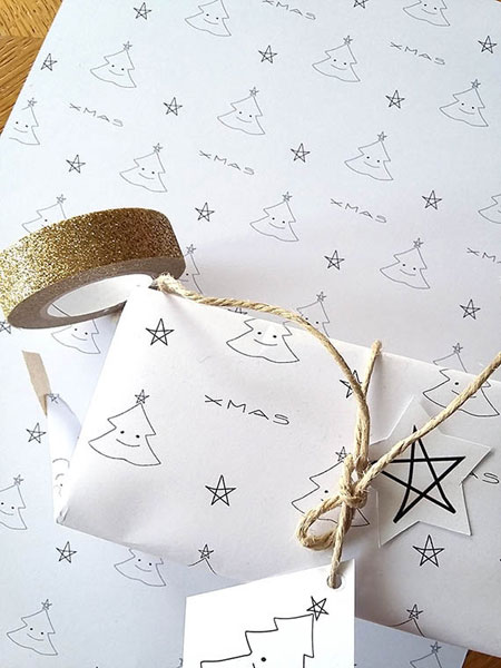 Printable Christmas Wrapping Paper