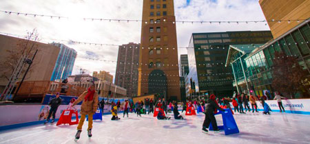 Skyline Park Ice Rink - Denver, CO