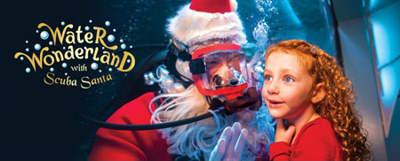 Newport, KY - Water Wonderland with Scuba Claus