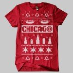 Chicago Ugly Christmas Sweater T-Shirt