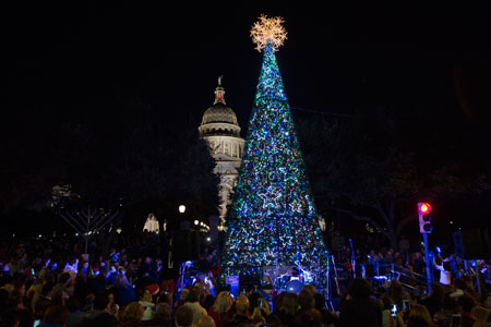 Christmas Tree Lighting - Austin, TX