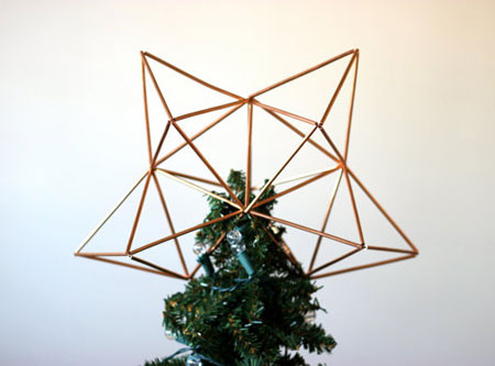 Himmeli Christmas Tree Topper