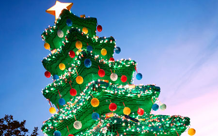 Christmas Tree Lighting - LEGOLAND California