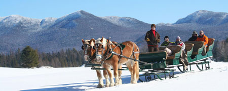 Lake Placid, New York Sleigh Rides