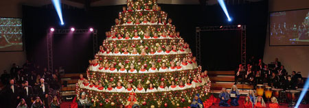 Singing Christmas Tree - Augusta, GA