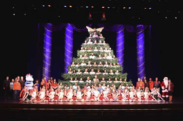 Singing Christmas Tree - Charlotte, NC