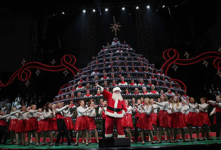 Singing Christmas Tree - Portland, OR