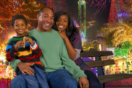 Holiday in the Park • Six Flags Fiesta Texas • San Antonio, Texas