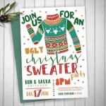 Etsy Item of the Day: Printable Ugly Christmas Sweater Party Invitation by Oh Happy Day Paper Co.