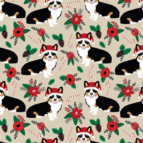 Christmas Corgis