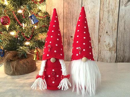Christmas Gnomes.Etsy Item Of The Day Nordic Christmas Gnomes Elf Blog