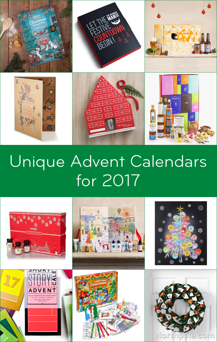 Unique Advent Calendars for 2017